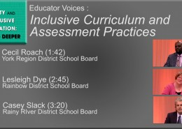 Video thumbnail - Inclusive curriculum and assessment practices