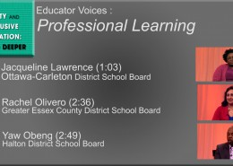 Video thumbnail - Professional learning